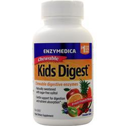 Enzymedica Kids Digest Chewables Fruit Punch 90 tabs