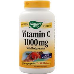 Nature's Way Vitamin C-1000 with Bioflavonoids 250 vcaps