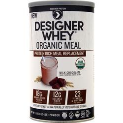 Designer Protein Organic Meal Milk Chocolate 1.19 lbs