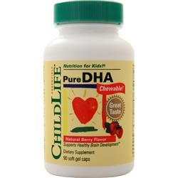 Childlife Pure DHA Chewable Natural Berry 90 sgels