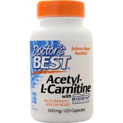 Doctor's Best Acetyl-L-Carnitine (500mg) 120 caps