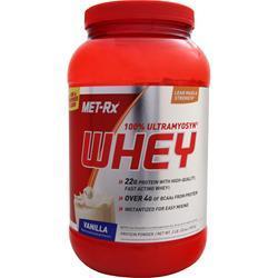 Met-Rx 100% Ultramyosyn Whey Protein (Buy 1 Get 1 Free) Vanilla 4 lbs