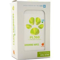 PL360 Plant Based Grooming Wipes (Buy 1 Get 1 Free) Mandarin 160 wipes