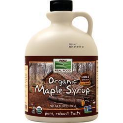 Now Organic Maple Syrup 64 fl.oz