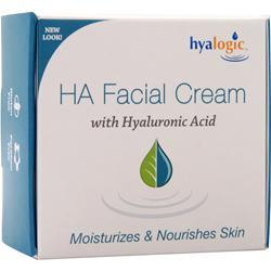Hyalogic HA Facial Cream with Hyaluronic Acid 2 oz