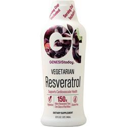 Genesis Today Vegetarian Resveratrol Liquid 32 fl.oz