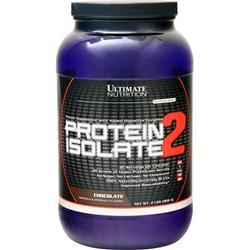 Ultimate Nutrition Protein Isolate - Platinum Series (Buy 1 Get 1 Free) Chocolate 4 lbs