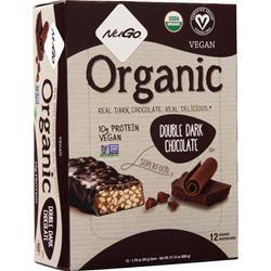 Nugo Nutrition NuGo Organic Bar Double Dark Chocolate 12 bars
