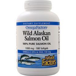 Natural Factors Salmon Oil 1000mg 180 sgels
