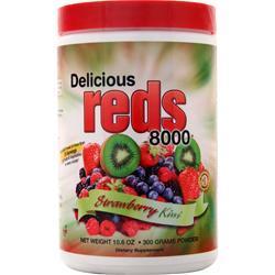 Greens World Delicious Reds 8000 Strawberry Kiwi 300 grams