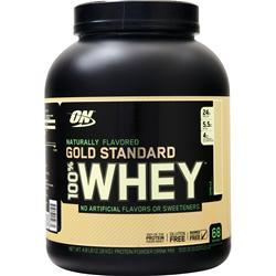 Optimum Nutrition 100% Whey Protein - Gold Standard (Natural) Vanilla 4.8 lbs