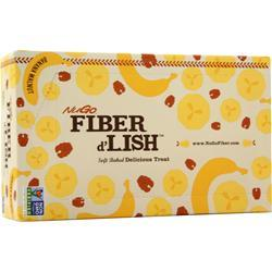 Nugo Nutrition Fiber d'Lish Bar Banana Walnut 16 bars