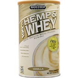 Biochem 100% Hemp & Whey Vanilla 13.3 oz