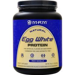 MRM Egg White Protein - All Natural Rich Vanilla 24 oz