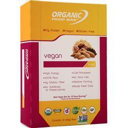 Organic Food Bar Vegan Bar 12 bars