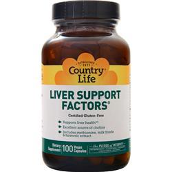 Country Life Liver Support Factors 100 vcaps