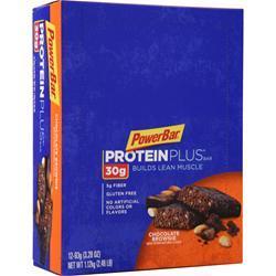 PowerBar Protein Plus Bar 30g Chocolate Brownie 12 bars