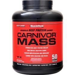 MuscleMeds Carnivor Mass Chocolate Fudge 10 lbs