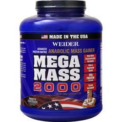Weider Mega Mass 2000 Smooth Chocolate 8.6 lbs