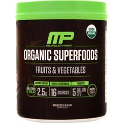 Muscle Pharm Organic Superfoods - Fruits & Vegetables 222 grams