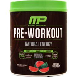 Muscle Pharm Pre-Workout - Natural Energy Fresh Cut Watermelon 348 grams