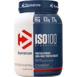 Dymatize Nutrition ISO-100 Strawberry 1.6 lbs