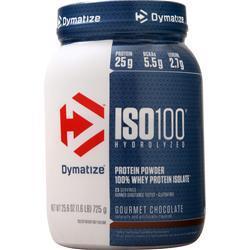 Dymatize Nutrition ISO-100 Gourmet Chocolate 1.6 lbs