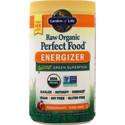 Garden Of Life Raw Organic Perfect Food Energizer Pomegranate-Yerba Mate 9.8 oz