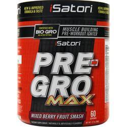 Isatori Pre-Gro Max (Buy 1 Get 1 Free) Blue Razz Snow Cone 720 grams