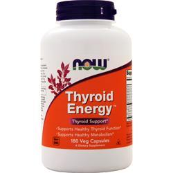 Now Thyroid Energy 180 vcaps