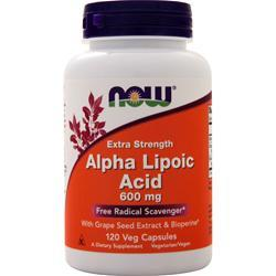 Now Alpha Lipoic Acid (600mg) 120 vcaps