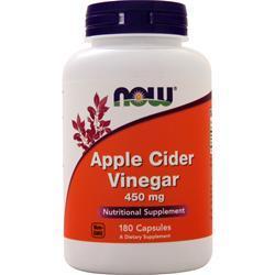 Now Apple Cider Vinegar (450mg) 180 caps