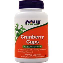 Now Cranberry Caps 100 vcaps
