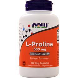 Now L-Proline 120 vcaps