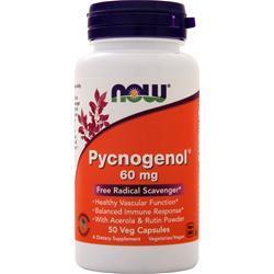 Now Pycnogenol (60mg) 50 vcaps