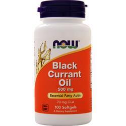 Now Black Currant Oil (500mg) 100 sgels