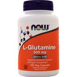 Now L-Glutamine (500mg) 120 vcaps