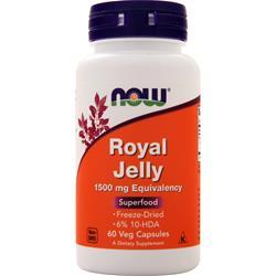 Now Royal Jelly (1500mg) 60 vcaps