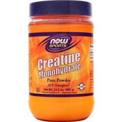 Now Creatine Monohydrate - 100% Pure Powder 600 grams