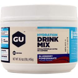 Gu Hydration Drink Mix Blueberry Pomegranate 456 grams