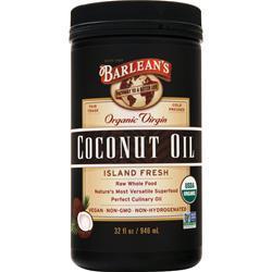 Barlean's Organic Virgin Coconut Oil 32 fl.oz