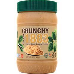 Bell Plantation Crunchy 1883 Old Fashioned Peanut Butter 16 oz