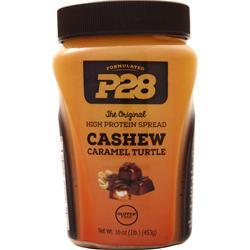 P28 Foods The Original High Protein Spread Cashew Caramel Turtle 1 lbs