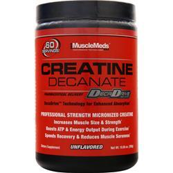 MuscleMeds Creatine Decanate Unflavored 10.58 oz