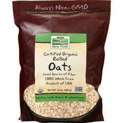 Now Rolled Oats - Non-Instant Certified Organic 24 oz