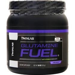 TwinLab Glutamine Fuel Powder EXPIRES 2/18 18 oz