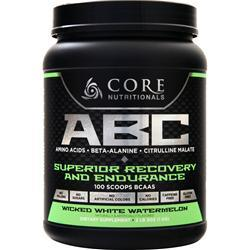 Core Nutritionals ABC - Superior Recovery and Endurance Wicked White Watermelon 1 kg