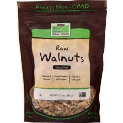 Now Raw Walnuts Unsalted 12 oz