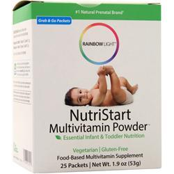 Rainbow Light NutriStart Multivitamin Powder 25 pckts