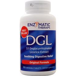 Enzymatic Therapy DGL 100 tabs